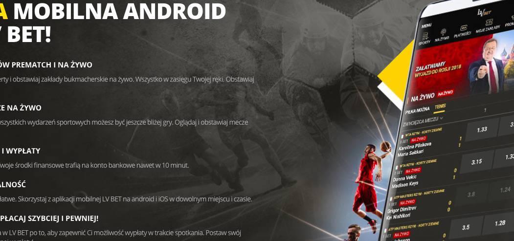 Aplikacja mobilna LvBET. Jak z niej korzystać?