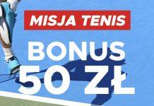 Betclic ma 50 PLN dla fanów tenisa!
