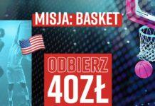 Misja: Basket. Bukmacher Betclic daje graczom 40 PLN na NBA!