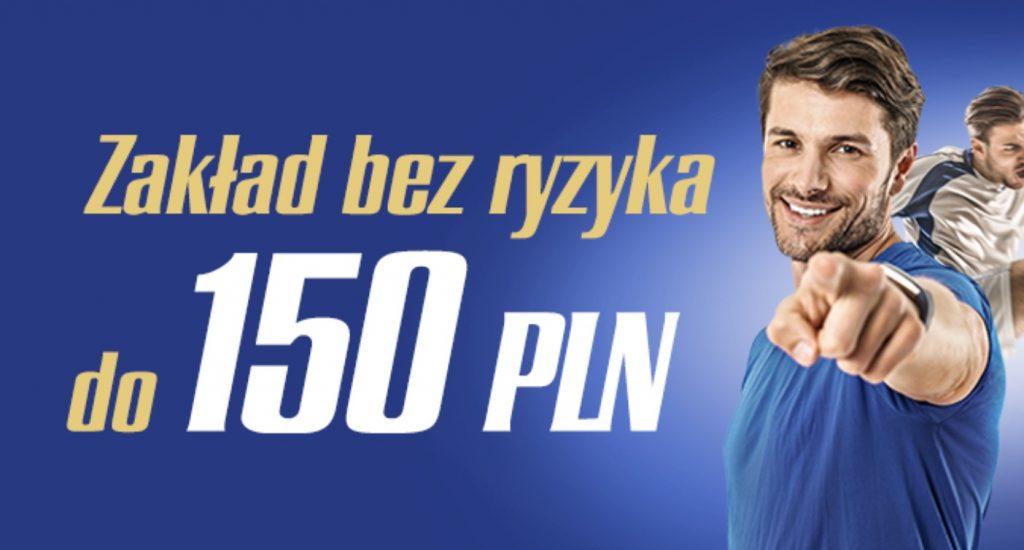 Ewinner Zakład Bez Ryzyka. Premia na start dla nowych graczy 150 PLN