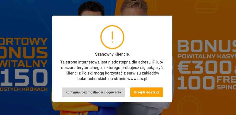 STSbet w Polsce